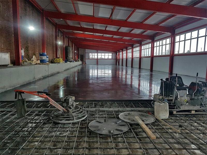 Шлифовка бетона профессиональным оборудованием